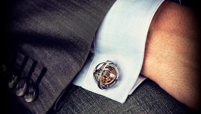 bouton de manchette homme luxe