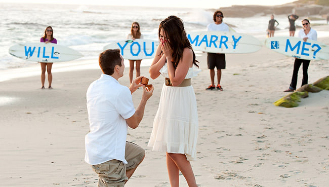 idées demande en mariage