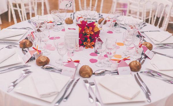 Placement des invites au mariage