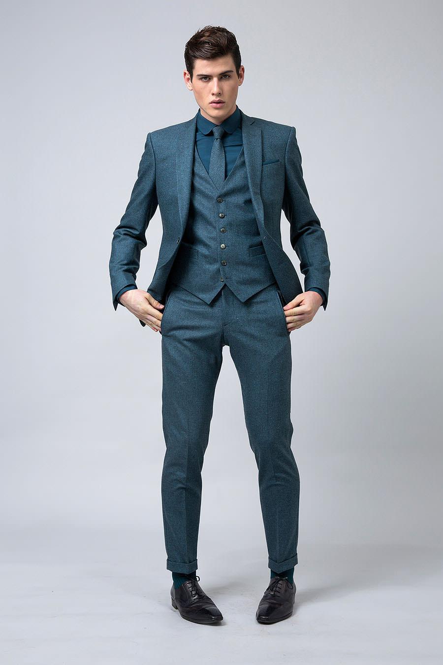 samonsurmesureH16 costume bleu canard-2