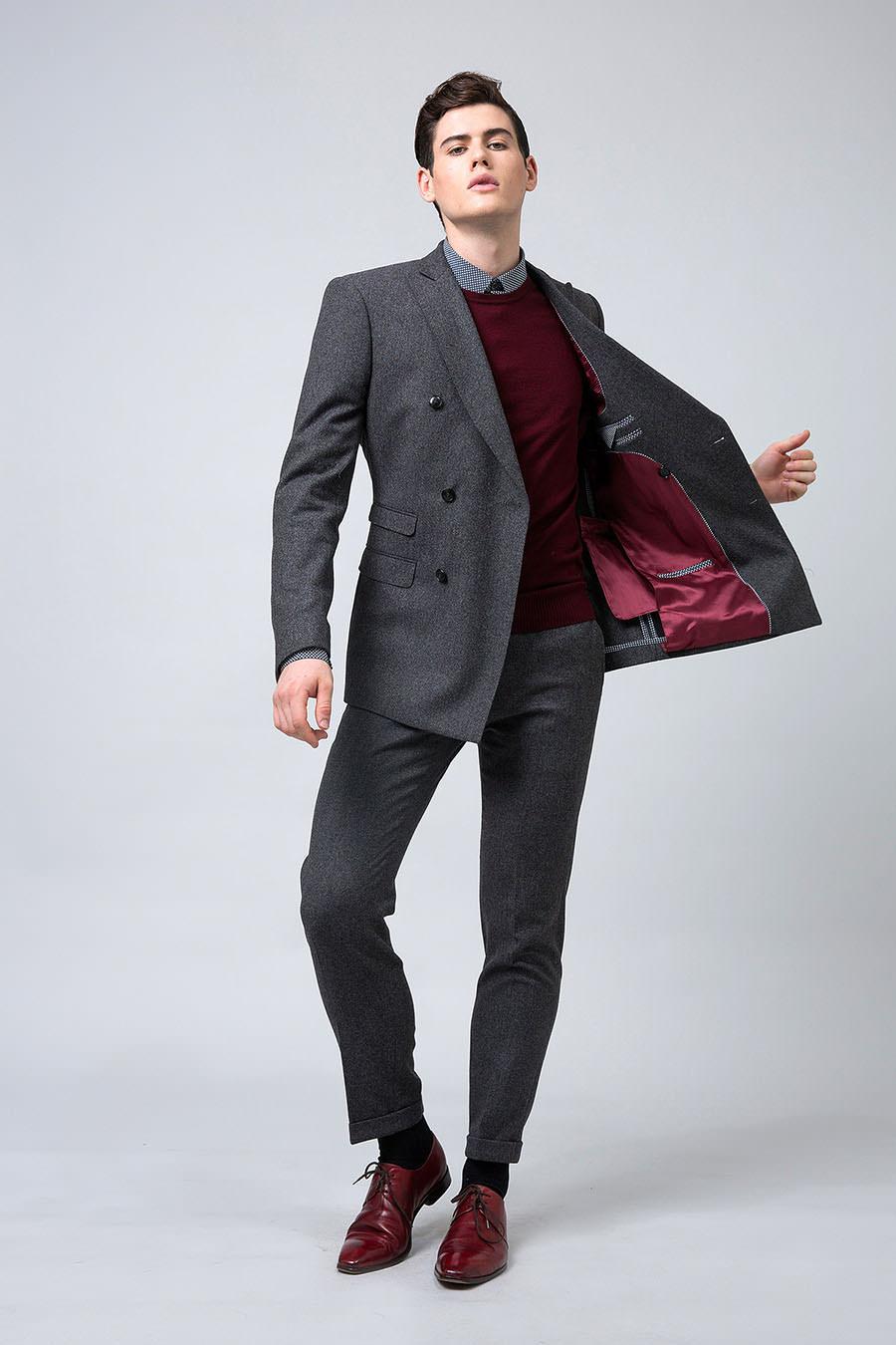 samonsurmesureH16 costume croise gris-2