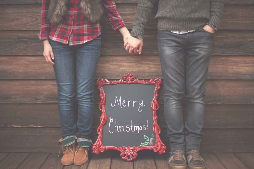 La demande en mariage à Noël
