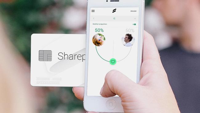 Sharepay, la carte qui partage les dépenses
