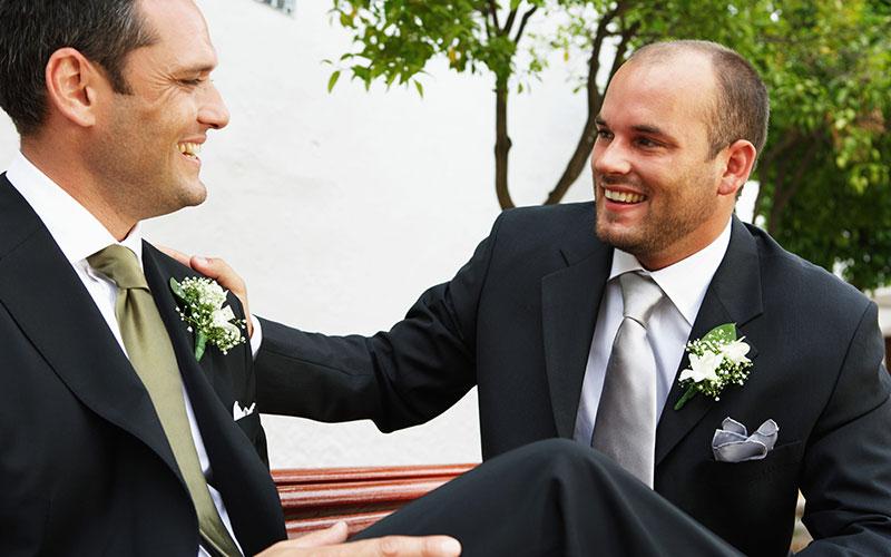 Le témoin du marié : Un poste à responsabilité !