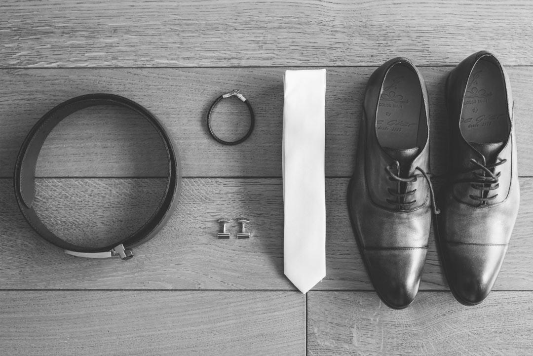 accessoires indispensables du marié