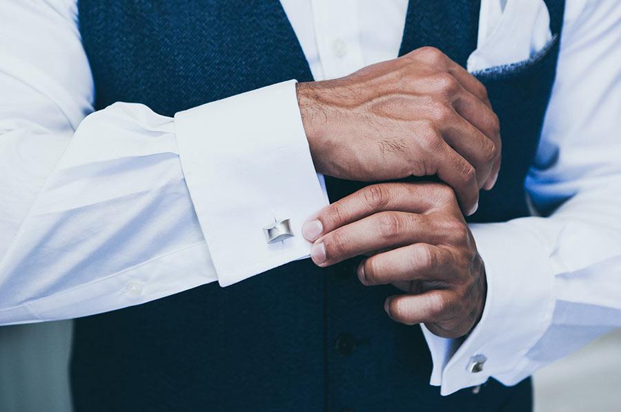 manches de chemise de mariage