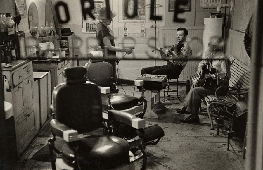 Barbier en 1950