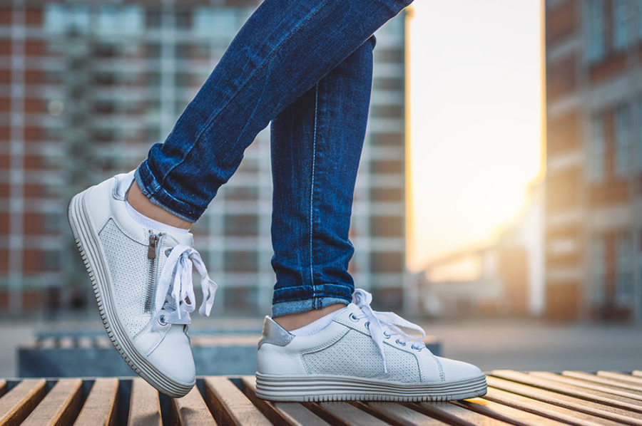 Sneakers Homme Blanc